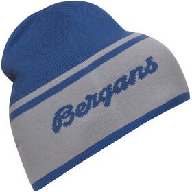 Bergans Seamless Bonnet, strong blue/alu